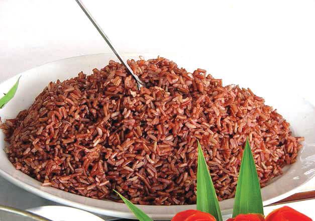 cơm gạo lứt đỏ kb333
