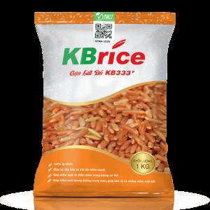 gạo lứt đỏ kb333p