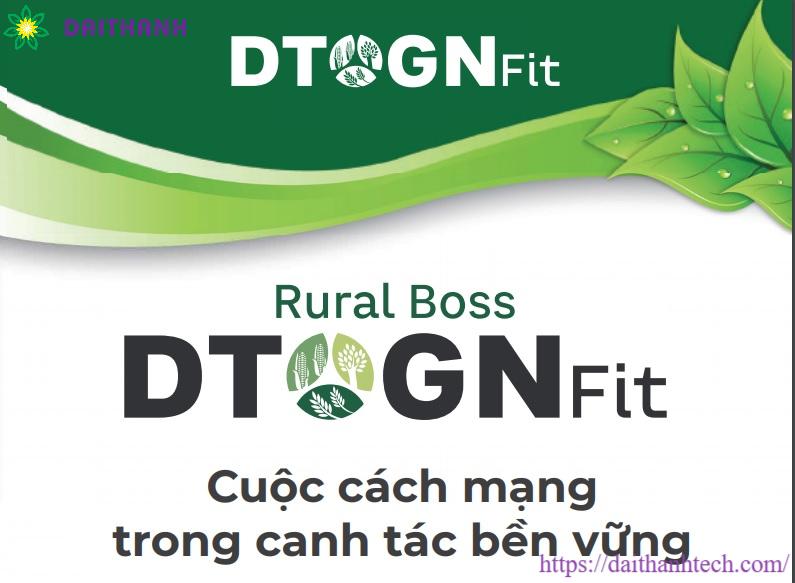 Phân bón hữu cơ sinh học Rural Boss DTOGNFit